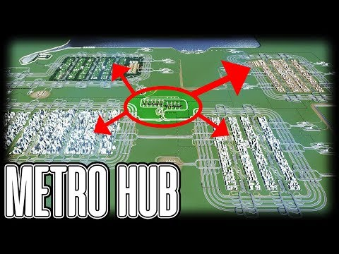 METRO HUB - Cities Skylines PC Gameplay Episode 17