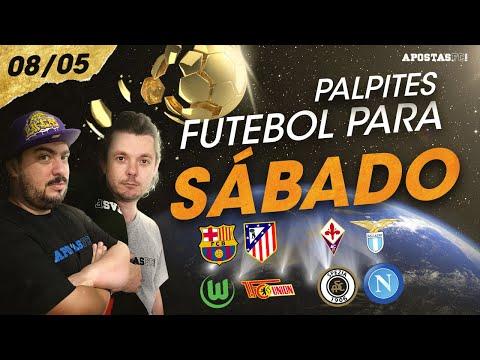 Palpites de Futebol para Sábado 08/05   AFC Dicas