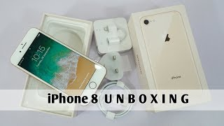 iPhone 8 Gold Unboxing & First impression [Urdu/Hindi]