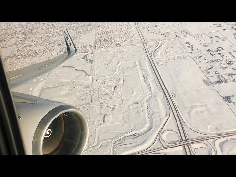 CF6 ENGINE ROAR | WestJet Boeing 767-300ER Winter Departure