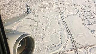 CF6 ENGINE ROAR | WestJet Boeing 767-300ER Winter Departure from Calgary Airport!