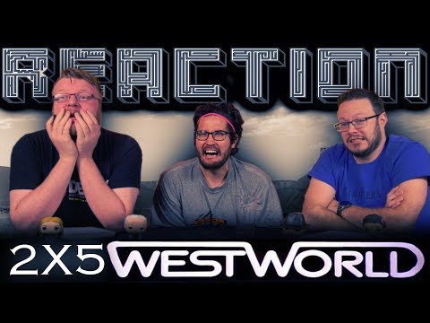 Westworld 2x5 REACTION!!