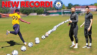 I Beat the F2Freestylers 100 Ball World Record!