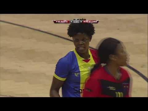 Taça de angola em Andebol Final Feminina - Petro de Luanda x 1º Agosto 28 07 17