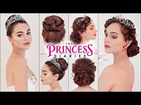 "Mia ""the Princess Diaries"" Updos| Prom 2019 Hairstyles"