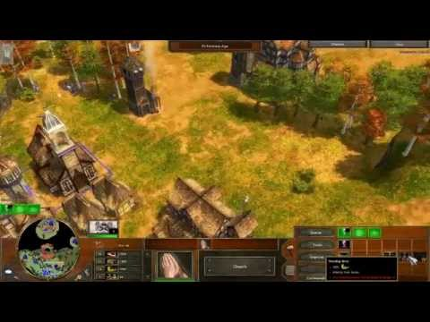 Age of Empires 3 - Act 2 Mission 3 - The Rescue - Campaign Walkthrough - Hard