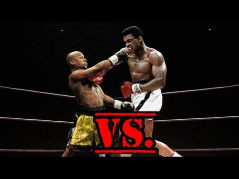 Muhammad Ali VS. Floyd Mayweather