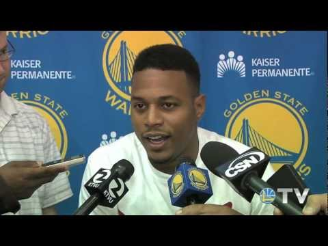 Brandon Rush Interview - 8/1/12