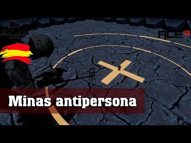 Arma 3 | Minas antipersona | ACE explosivos