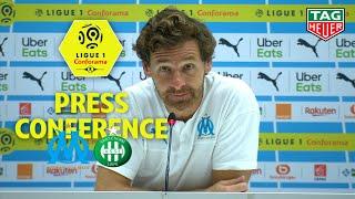 Press Conference Olympique de Marseille - AS Saint-Etienne ( 1-0 )  / 2019-20
