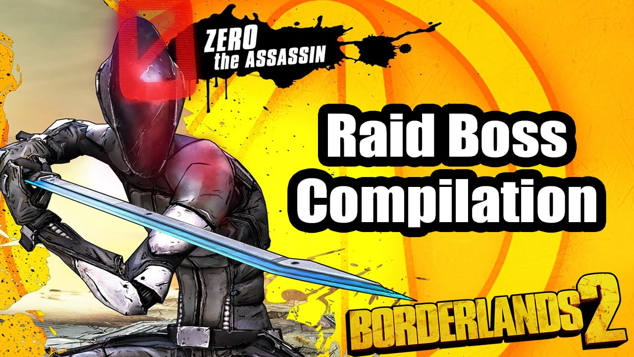 BORDERLANDS 2: how to make zero invincible against raid