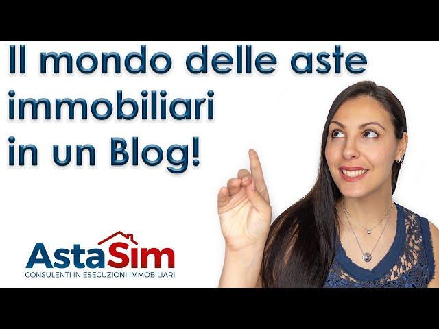 Il mondo delle aste immobiliari in un Blog!
