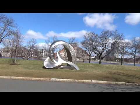 Walk in Boston University