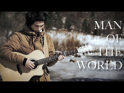 Man of The World - Naruto Shippuden OST (Fingerstyle Guitar Cover by Albert Gyorfi) [+TABS]