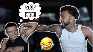 """Acting """"HOOD"""" To See How My BROTHER Reacts...**HILARIOUS**"""
