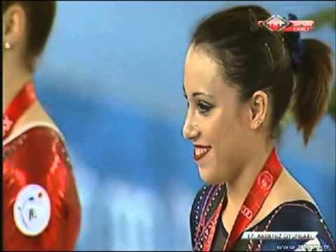 Mediterranean Games 2013 Floor Final Medal Ceremony