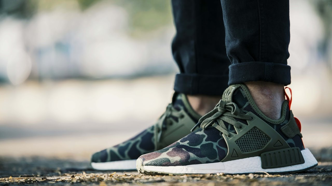 big sale 69917 ea1e5 adidas Originals NMD XR1 Duck Camo Olive - Closest sneaker to the BAPE NMD