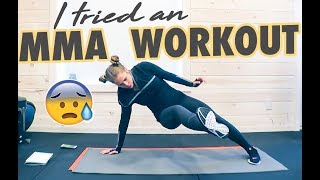 I Tried an MMA Conditioning Workout