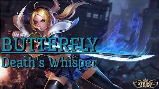 BUTTERFLY GAMEPLAY (Item + Skill build) Strike of Kings Taiwan Server |