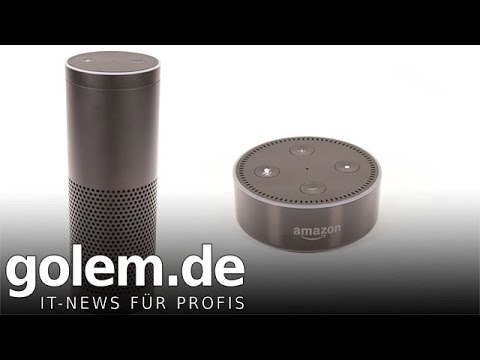 amazon echo und echo dot test youtube. Black Bedroom Furniture Sets. Home Design Ideas