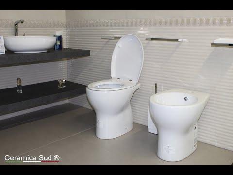 Sanitari tradizionali MADE IN ITALY con copri wc a chiusura rallentata Best Quality