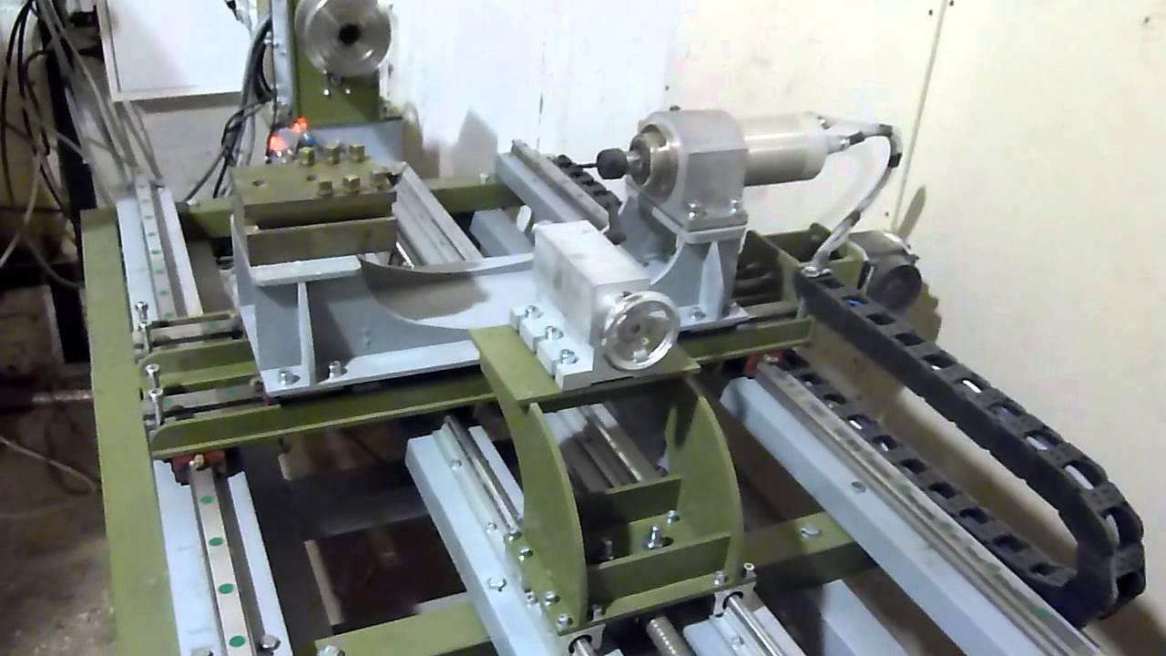 Токарный станок с ЧПУ (CNC). Haas SL 20 - YouTube
