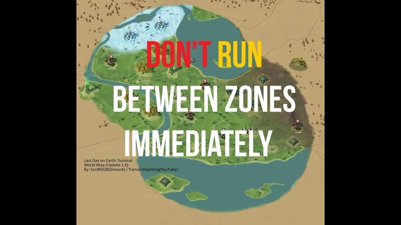 DON'T RUN IMMEDIATELY! WORLD MAP | LAST DAY ON EARTH: SURVIVAL