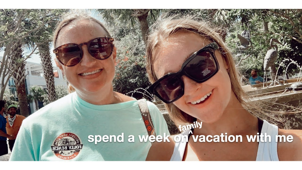 spend a week on (family) vacation with me - YouTube