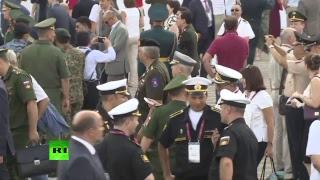 Открытие военно-технического форума «Армия-2017»