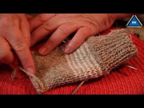 Вязание носков спицами - пособие для начинающих
