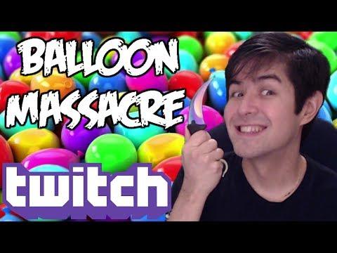 Ichi's Balloon Massacre Party on Twitch!