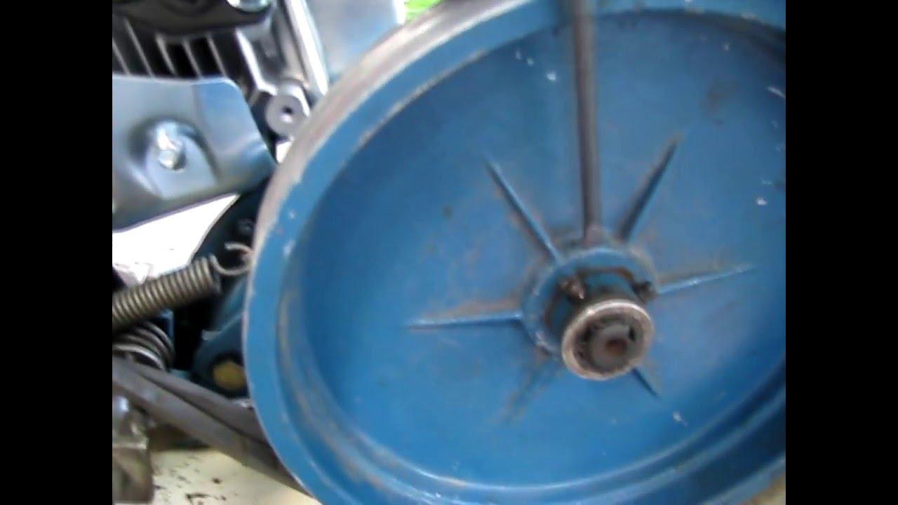 Мотоблок МБ-1, ремонт и замена двигателя мотоблока - YouTube