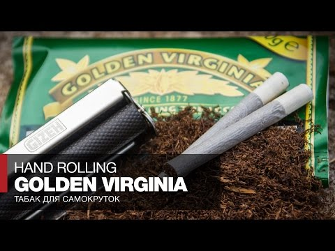 Табак для самокруток Golden Virginia Hand Rolling Tobacco // Обзор и отзывы
