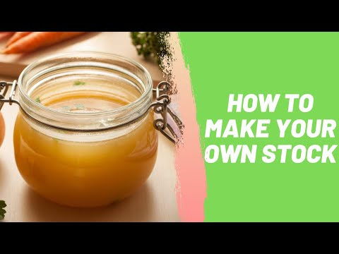 How to Make Your Own Stock