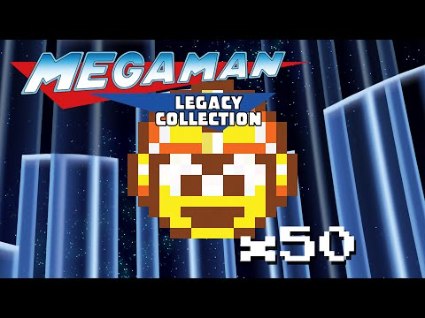 Megaman Legacy Collection: All Gold Challenges