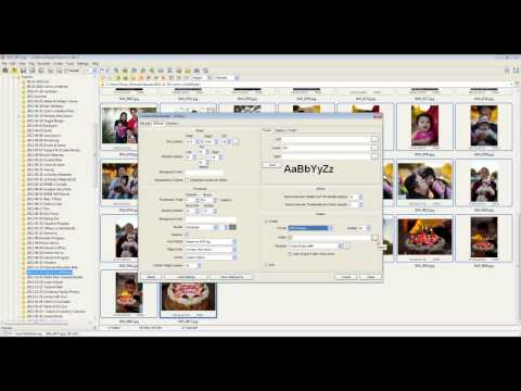 Hot to create contact sheets & print multiple images in FastStone Image Viewer