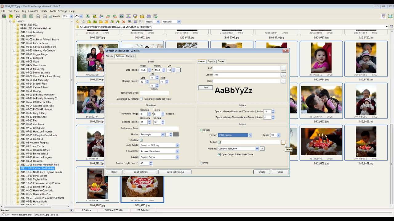 how to use faststone image viewer
