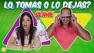 LO TOMAS O LO DEJAS SLIME  Take it or leave it Momentos Divertidos thumbnail