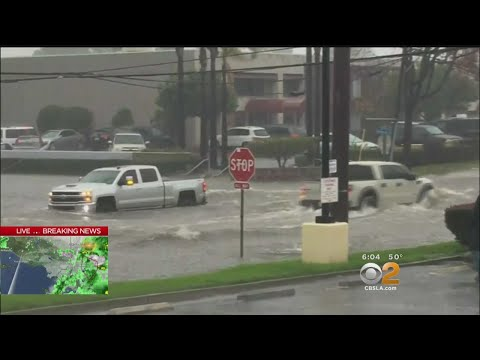 Flooded Roads And Homes In Orange County Today