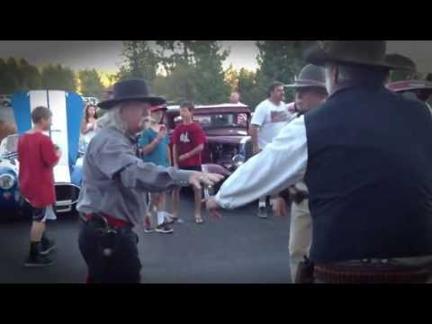 Nevada Gunfighters - Shootout at the Street Dance in The Barn - Graeagle