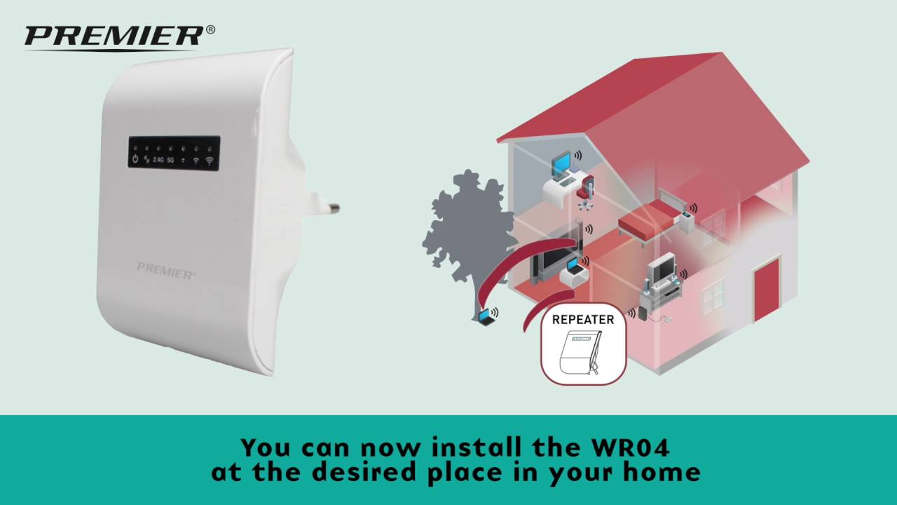 Premier wr04 installation assistant installation with - Repeteur wifi free ...