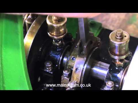 REBUILDING A LARGE CLARKSON VERTICAL STEAM ENGINE - PART #27