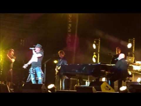 Big Shot – 07-28-17 Target Field  Billy Joel  Axl Rose