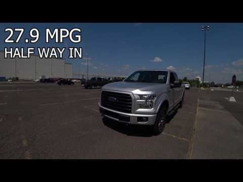 2.7 F150 Ecoboost 28.9 Miles To The Gallon!