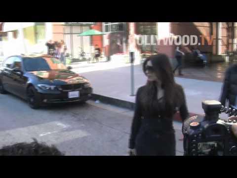 Kim Kardashian causes chaos in Beverly Hills