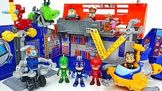 Let's make Supermoto, Rivet Shark in Rusty Rivets Lab with PJ Masks! #DuDuPopTOY
