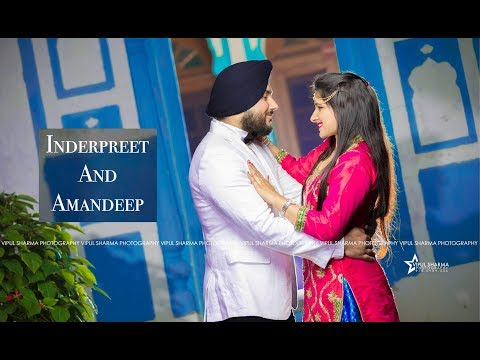 Inderpreet & Amandeep | Best Indian Sikh Wedding Highlights 2017 | 9569143227