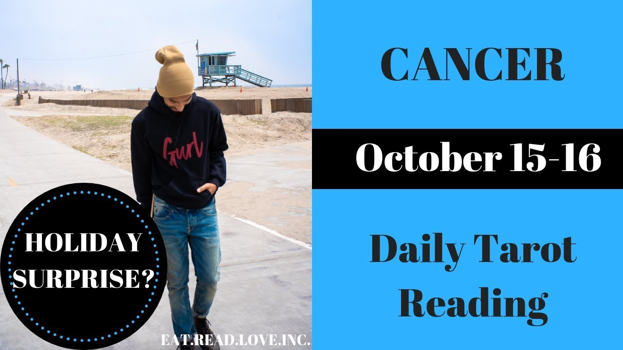 cancer weekly 10 to 16 tarot video