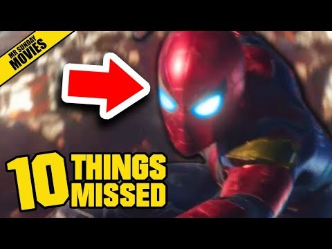 AVENGERS: INFINITY WAR Official Trailer - Things Missed & Easter Eggs (Marvel Studios)