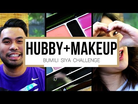 Husband Buys My Makeup Challenge ( Tagalog ) | Kris Lumagui